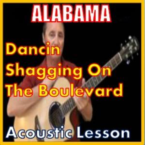 learn to play dancin shaggin on the blvd by alabama