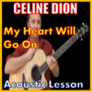 learn to play my heart will go on by celine dion