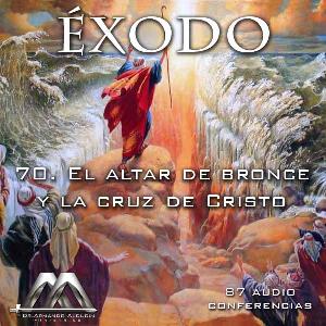 70 el altar de bronce y la cruz de cristo