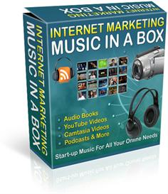 internet marketing music in a box 101 tracks with resale rights