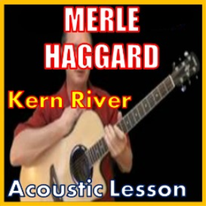 learn to play kern river by merle haggard