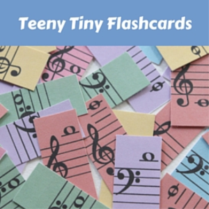 teeny tiny flashcards