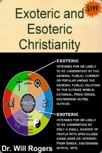 exoteric and esoteric christianity