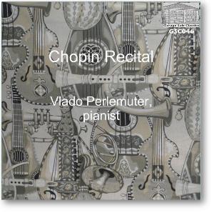 chopin recital - vlado perlemuter, piano