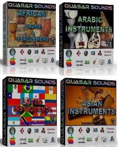 world instruments soundfonts bundle pack (you save 20$)