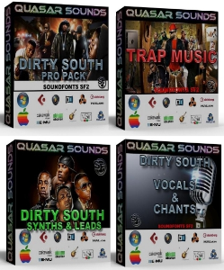 trap & dirty south domination kit bundle pack   you save 22$