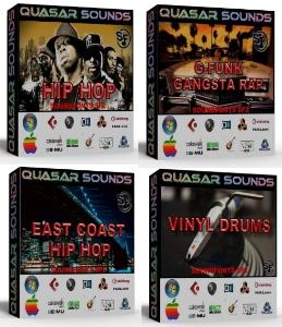 hip hop producer arsenal drum kit bundle pack   you save 30$