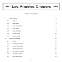 Los Angeles Clippers Playbook | eBooks | Sports