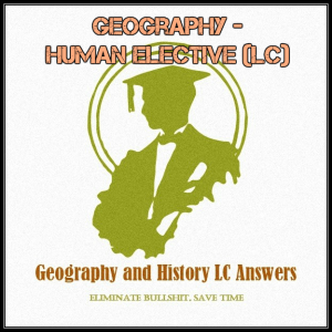 geography - human elective (lc)