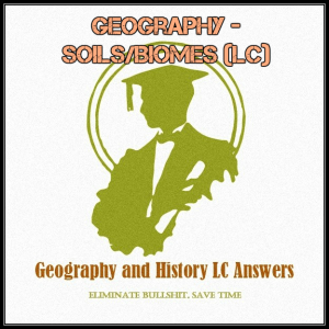 geography - soils/biomes (lc)