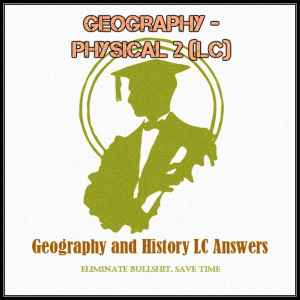 Geography - Physical 2 (LC) | Documents and Forms | Research Papers