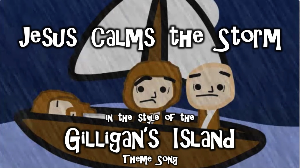 jesus calms the storm - kids music video