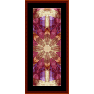fractal 486 bookmark cross stitch pattern by cross stitch collectibles