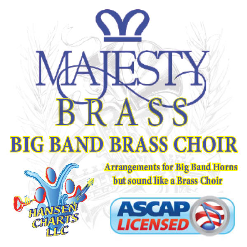 First Additional product image for - A Mighty Fortress arranged for 5440 big band in a brass choir style