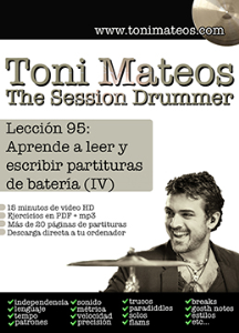 The Session Drummer. Leccion 95. Aprende a leer y escribir partituras de bateria (IV) | Music | Other