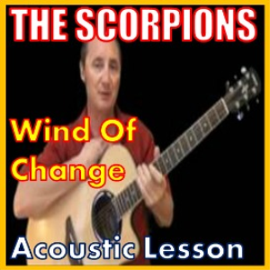 learn to play wind of change by the scorpions