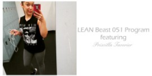 lean beast two week program featuring priscilla tavernier