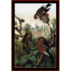 Finches - Wildlife cross stitch pattern by Cross Stitch Collectibles | Crafting | Cross-Stitch | Other