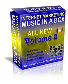 Internet Marketing Music In a Box Volume 2 Resale Rights 252 tracks | Music | Miscellaneous
