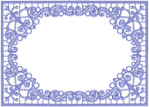 Beautiful Frame 4 - HUS   Crafting   Embroidery