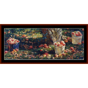 Grounders - Americana Ltd. Ed. cross stitch pattern by Cross Stitch Collectibles | Crafting | Cross-Stitch | Wall Hangings