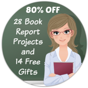 teacher appreciation value pack: 28 book report projects/14 free gifts
