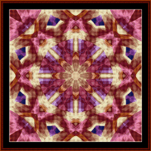 Fractal 486 cross stitch pattern by Cross Stitch Collectibles   Crafting   Cross-Stitch   Wall Hangings