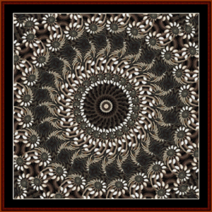 Fractal 489 cross stitch pattern by Cross Stitch Collectibles | Crafting | Cross-Stitch | Other