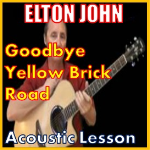 learn to play goodbye yellow brick road by elton john