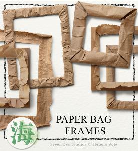 paper bag frames