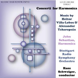 concerti for harmonica - john sebastian/stuttgart rso/hans schweiger