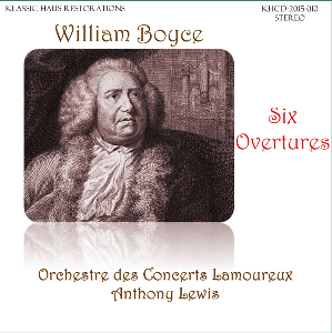 William Boyce: Six Overtures - Lamoureux Orchestra/Anthony Lewis | Music | Classical