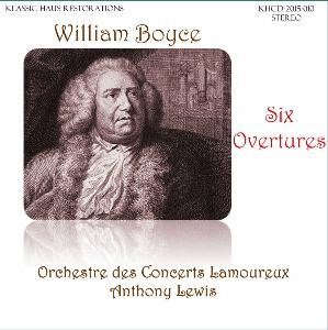 william boyce: six overtures - lamoureux orchestra/anthony lewis