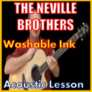 learn to play washable ink by the neville brothers