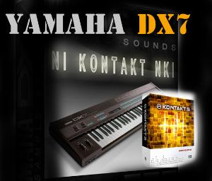 yamaha dx7 sounds /wav kontakt nki