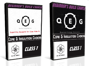 qeg class 1: core and insulation choices