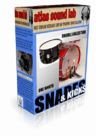 snare & kick drum loops