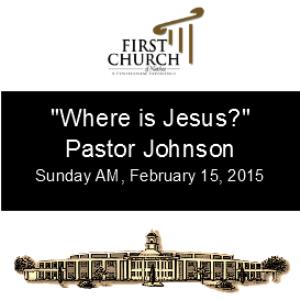 where is jesus (pastor james johnson