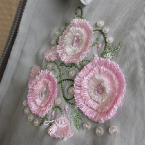 Second Additional product image for - Fimbria Flowers 4x4 - PCS