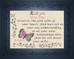 name blessings -  robyn