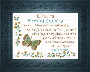 name blessings -  thalia