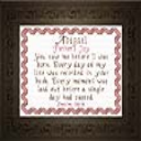 Name Blessings -  Abigail 4 | Crafting | Cross-Stitch | Religious