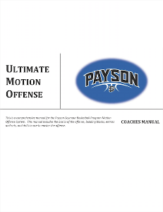 ultimate motion offense playbook