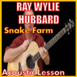 learn to play snake farm by ray wylie hubbard