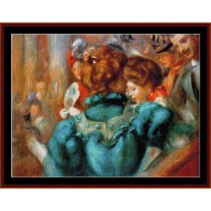 Des Varietes - Renoir cross stitch pattern by Cross Stitch Collectibles | Crafting | Cross-Stitch | Wall Hangings