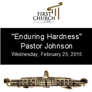 enduring hardness (pastor johnson)