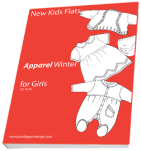 WG15-Winter Apparel for Gilrs | Other Files | Patterns and Templates