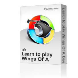 learn to play wings of a dove by ferlin huskey