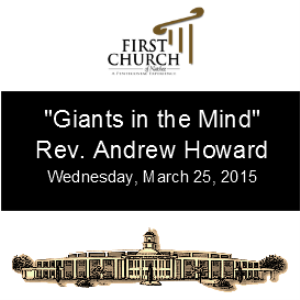 Giants in the Mind (Rev. Andrew Howard) | Other Files | Everything Else