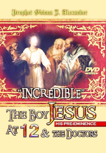 "incredible"" - the boy jesus (his pre-eminence) and the doctors."